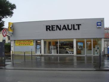 Garage Renault automobile à Villejuif